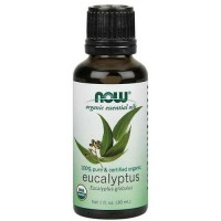 Now Foods Organic Eucalyptus Oil 1 Oz