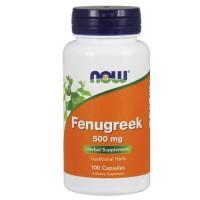 Now Foods Fenugreek 500 Mg 100 Capsules