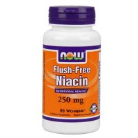 Now Foods Niacin Flush Free 250 Mg 90 Vegetable Capsules