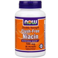 Now Foods Flush Free Niacin 500 Mg 90 Vegetable Capsules