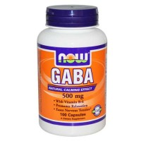 Now Foods Gaba 500 Mg 100 Capsules