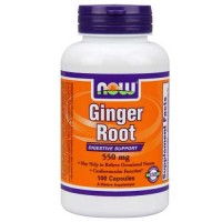 Now Foods Ginger Root 550 Mg 100 Capsules