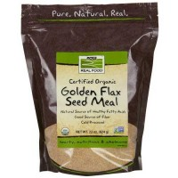 Now Foods Golden Flax Meal Organic 22 Oz