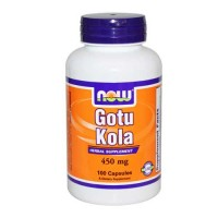 Now Foods Gotu Kola 450 Mg 100 Capsules