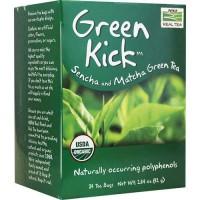 Now Foods Green Kick Sencha and Matcha Green Tea 24 Bags