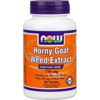 Now Foods Horny Goat Weed 750 Mg 90 Tablets