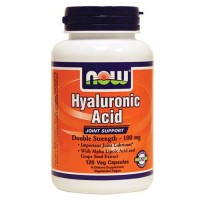 Now Foods Hyaluronic Acid 100 Mg 2X Plus 120 Vegetable Capsules