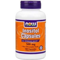 Now Foods Inositol 500 Mg 100 Capsules