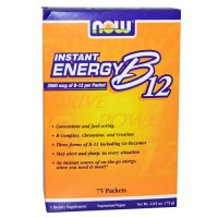 Now Foods B-12 Instant Energy Packets 75 / Box