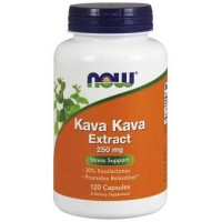 Now Foods Kava Kava 250 Mg 30% 120 Capsules