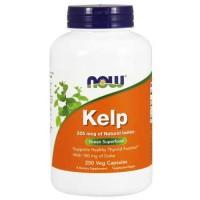 Now Foods Kelp Caps 250 Vegetable Capsules