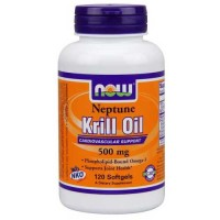 Now Foods Neptune Krill Oil 500mg 120 Gels