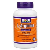 Now Foods L-Arginine 500 Mg 100 Capsules