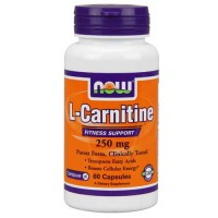 Now Foods Carnitine 250 Mg 60 Capsules