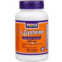 Now Foods Cysteine 500 Mg 100 Tablets