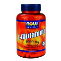Now Foods L-Glutamine 1000mg 120 Caps