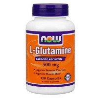 Now Foods Glutamine 500 Mg 120 Capsules
