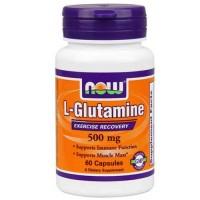 Now Foods Glutamine 500 Mg 60 Capsules