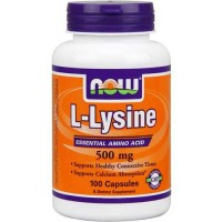 Now Foods L-Lysine 500 Mg 100 Capsules