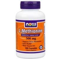 Now Foods L-Methionine 500 Mg 100 Capsules