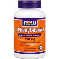 Now Foods Phenylalanine 500 Mg 120 Capsules