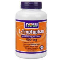 Now Foods L-Tryptophan 500 Mg 120 Vege Caps