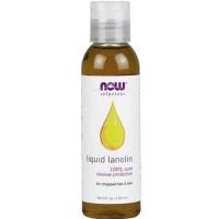 Now Foods Liquid Lanolin Pure 4 Oz
