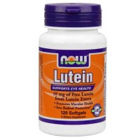Now Foods Lutein 10 Mg (From Esters) 120 Softgels
