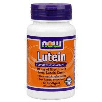Now Foods Lutein 10 Mg (From Esters) 60 Softgels