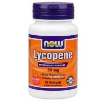 Now Foods Lycopene 20 Mg 50 Softgels