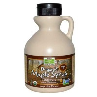 Now Foods Maple Syrup Grade B Organic 16 Oz