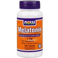 Now Foods Melatonin 1 Mg TR Complex 100 Tablets