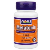 Now Foods Melatonin 3 Mg 60 Capsules