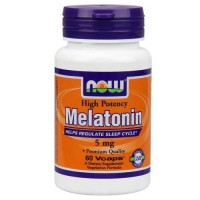 Now Foods Melatonin 5 Mg 60 Vegetable Capsules