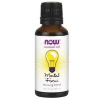 Now Foods Mental Focus Oil Blend 1 Oz