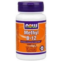 Now Foods Methyl B-12 5000 Mcg 60 Lozenges