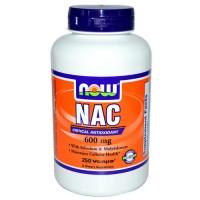 Now Foods NAC 600mg 250 Vege Caps