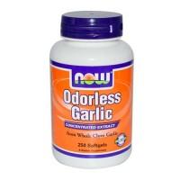 Now Foods Odorless Garlic Orig 250 Softgels