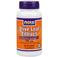 Now Foods Olive Leaf Ext 500 Mg 60 Vegetable Capsules
