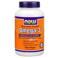 Now Foods Omega-3 180 Softgels Enteric