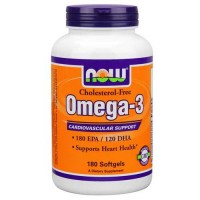 Now Foods Omega-3 1000 Mg Choles Free 180 Softgels
