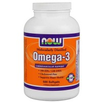 Now Foods Omega-3 1000 Mg 500 Softgels