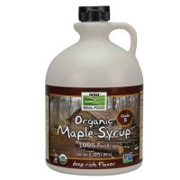 Now Foods Maple Syrup Grade B Org 64 Oz