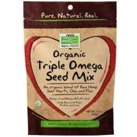 Now Foods Triple Omega Seeds Organic 12 Oz
