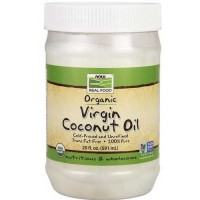 Now Foods Organic Coconut Oil Virgin 20 Oz