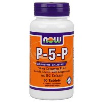 Now Foods P-5-P 50 Mg Complex 60 Tablets