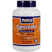 Now Foods Pancreatin 2000 Mg 250 Capsules