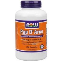 Now Foods Pau D' Arco 500 Mg 250 Capsules