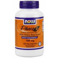 Now Foods Phase-2 500 Mg 120 Vegetable Capsules