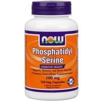 Now Foods Phosphatidyl Serine 100 Mg 120 Vegetable Capsules